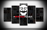 9152 mr robot artwork do Poster Framed Gallery wrap art print home wall decor wall picture