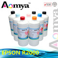 bulk ink Fast shipping via DHL Dye ink For Epson r2000 printer, 8colors/set  CISS Ink