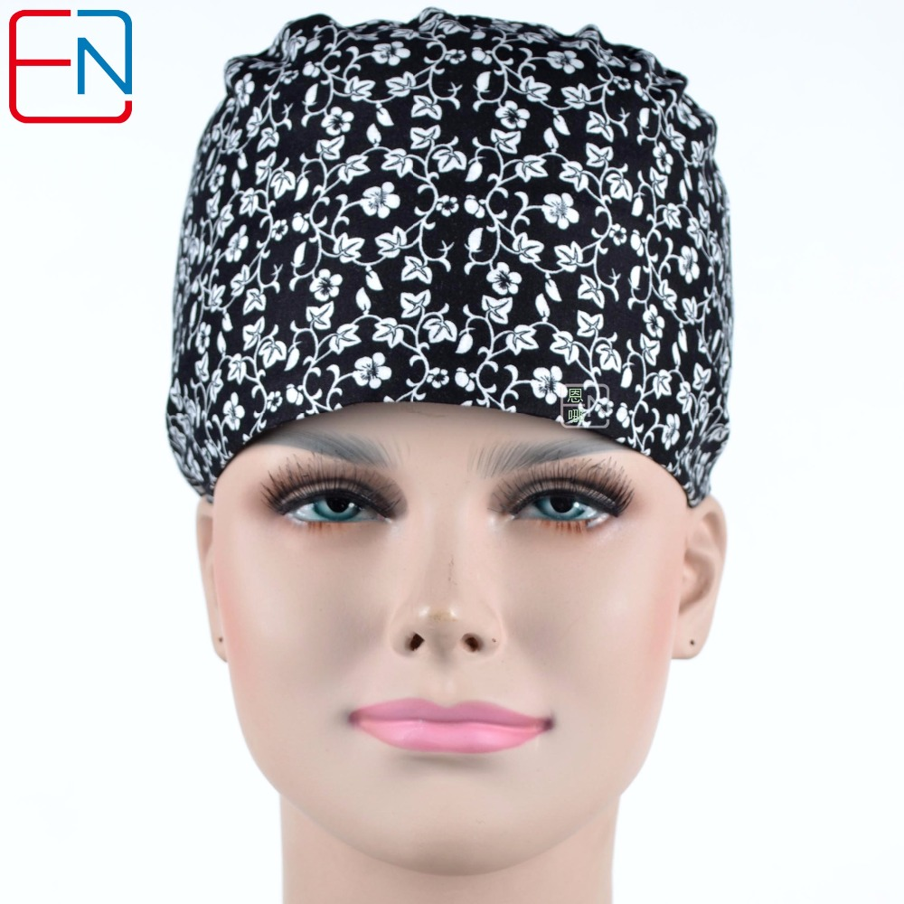 Matin Long Hair Surgical Cap  For Long Hair Doctors And Nurses 100% Cotton Free Shipping