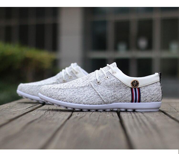 HTB12QYLr5MnBKNjSZFzq6A qVXac Men Casual Shoes mens canvas shoes for men shoes men fashion Flats brand fashion Zapatos de hombre