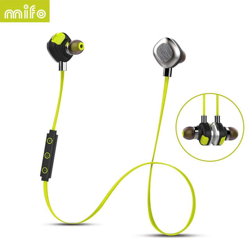 MIFO Sport Hifi Mini Cordless Wireless Blutooth Headphones Bluetooth Earphone For Phone iPhone In-ear Headset Auricular Earbud vodool bluetooth earphone earbud mini wireless bluetooth4 1 headset in ear earphone earbud for iphone android smartphone