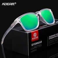 KDEAM Unisex-Fit Design Occhiali Da Sole Polarizzati Look Pulito Frantumare-resistente Occhiali Da Sole Degli Uomini di Sport Shades lentes de sol