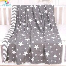 Newborns Baby Duvet Cover Cotton Soft Bedding Quilt Blanket Breathable Comforter Covers Cartoon kids Single