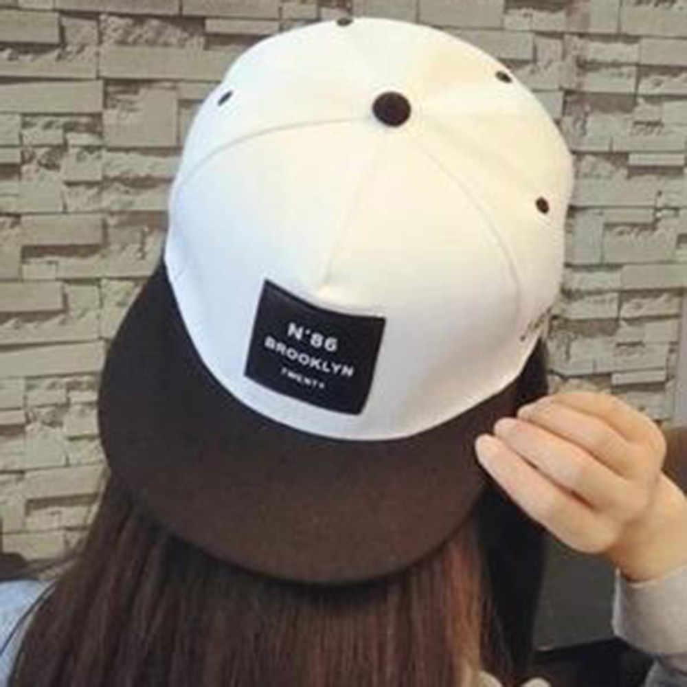 Soild Warna Topi Bisbol Katun Hip Hop Wanita Perlindungan Matahari Snapback Bisbol Topi Cute Japanese Gaya