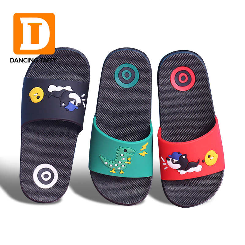 New Children Slippers Cartoon Flip Flop Fashion Parent-child Shoes Family Fitted Sandals Kids Slippers Summer Beach Shoes Girls Refreshing And Enriching The Saliva
