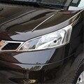 Высокое качество ABS Хром Передняя фара Крышка Накладка для Nissan NV200 2010-2016 автомобильный Стайлинг