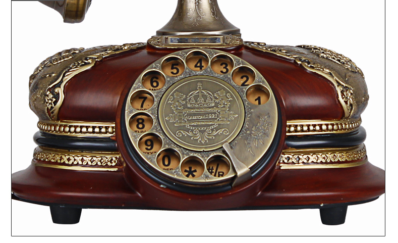 Thanksgiving Christmas Xmas Gift Christmas Luxury Classic Rotary Phone  Antique Telephone Retro Vintage Home Desk Telephone-in Telephones from  Computer ... - Thanksgiving Christmas Xmas Gift Christmas Luxury Classic Rotary
