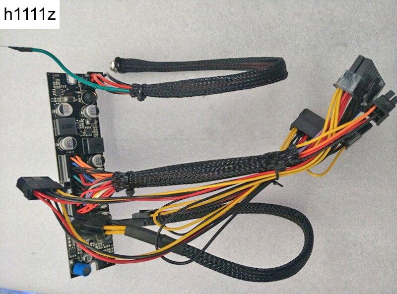 H1111Z 250W 12V DC-ATX ATX 24Pin Switch PSU Adapter Card Mini ITX High Power Supply Module DC to Car for HTPC PICO PC Computer dc dc atx psu 12v 250w pico atx switch pico psu 24pin mini itx dc to car atx pc power supply for computer