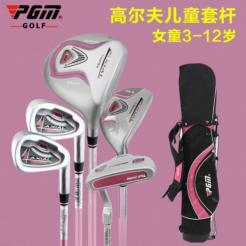 PGM009 niños golf clubs de Golf set $ number piezas Conjunto con Bolsa de Palos