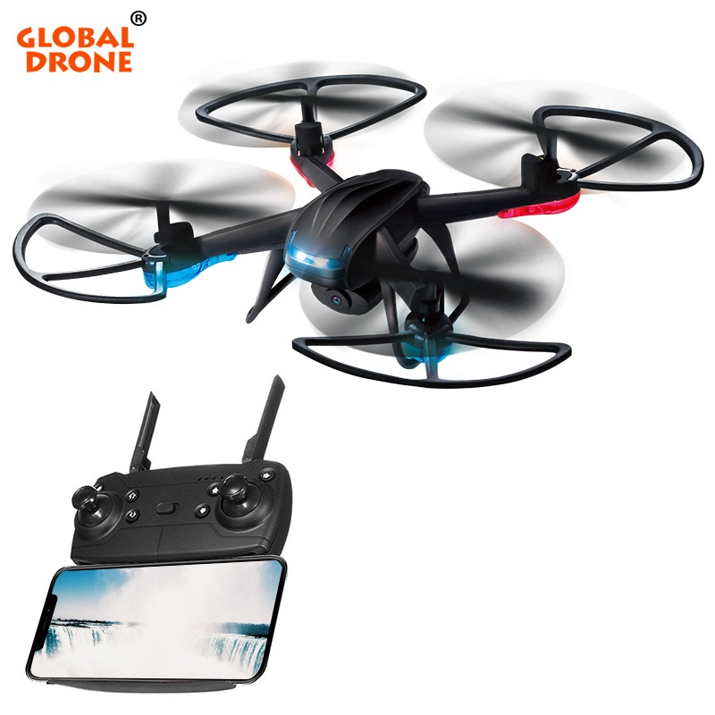 Global Drone GW007-3 Quadcopter with Camera 2.4G 4CH 6 Axis Gyro Helicopter Altitude Hold FPV Mini Drones with Camera HD RC Dron jjrc rc drone dron rtf wifi fpv firefly drones with camera 2 4ghz 4ch 6 axis gyro air press altitude hold app control quadcopter