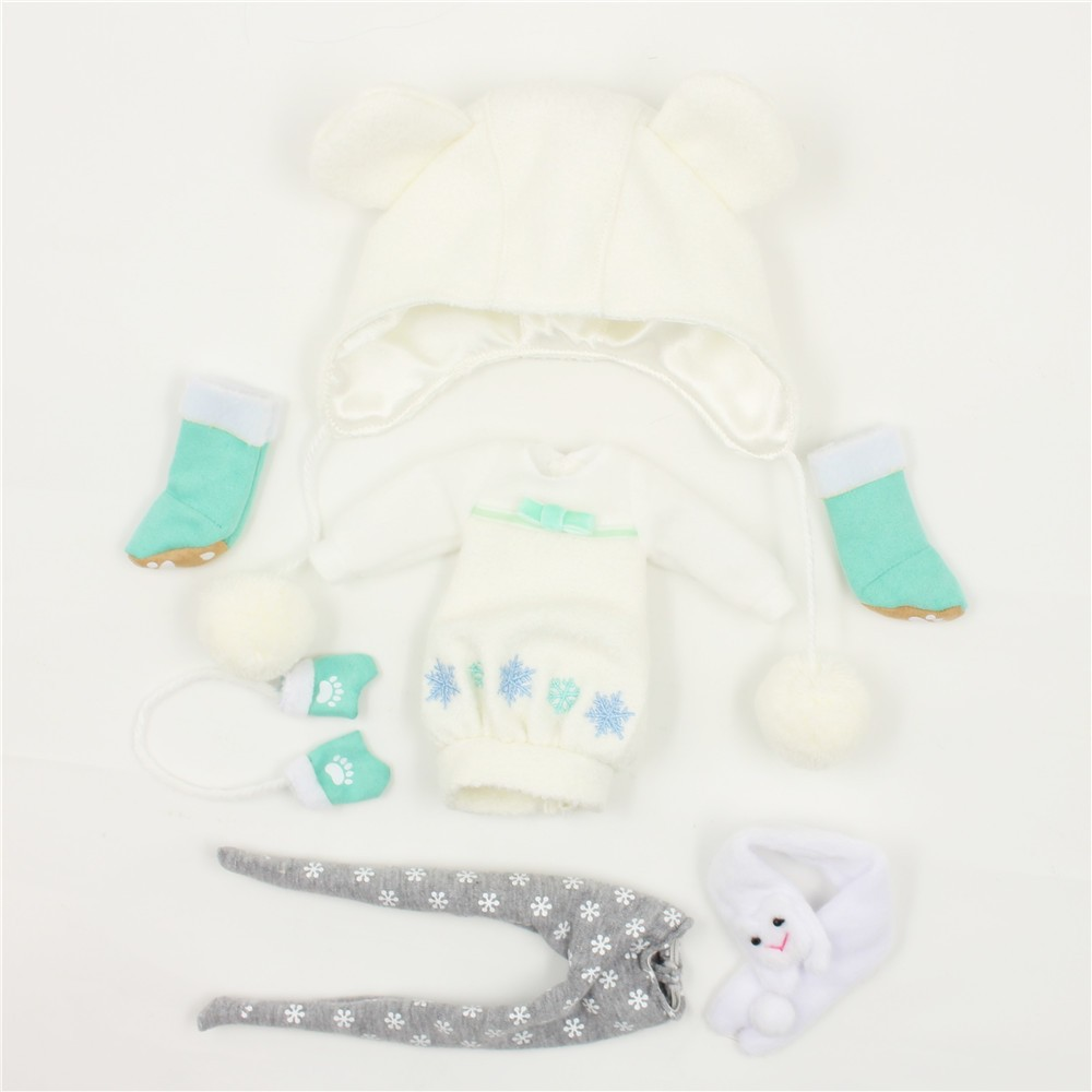 Neo Blythe Doll Winter Outfit Set 7