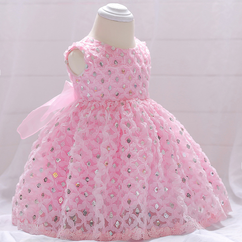Vintage Baby Dresses 1 2 Year First Birthday Girl Party Infant Dress 2018 Newborn Wedding Baptism Christening Gown For Baby Girl (11)