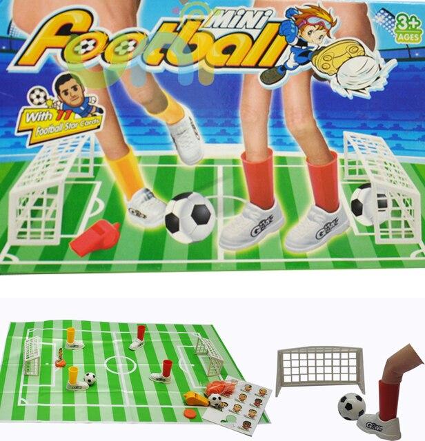 Dedo partido de fútbol fútbol de la familia del deporte Mini oficina ...