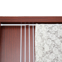 W Extendable Spring Telescopic Shower Bathroom Window Curtain Rail Loaded Pole  Rod 55 90cm(