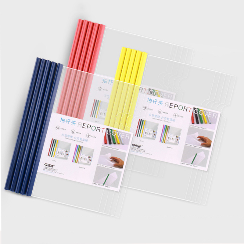 A4 File Folder Information Book Paper Clip Folder Student Folders Bag Multi-Layer Transparent Document Folder A4 Office Supplies