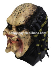 Hot selling Novelty Items Predator Mask Costume Overhead Latex Scary Mask For Carnival