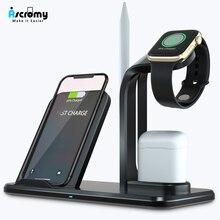 무선 충전기 qi 3 in 1 홀더 스탠드 스테이션 apple watch series 5 4 3 2 iphone 11 pro max xs max xr iwatch airpods pro 3