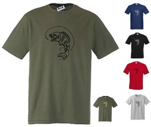 NEW CARP FISH /T-SHIRT, Small to 3XL, Olive, Black, Navy etc  New T Shirts Funny Tops Tee Unisex