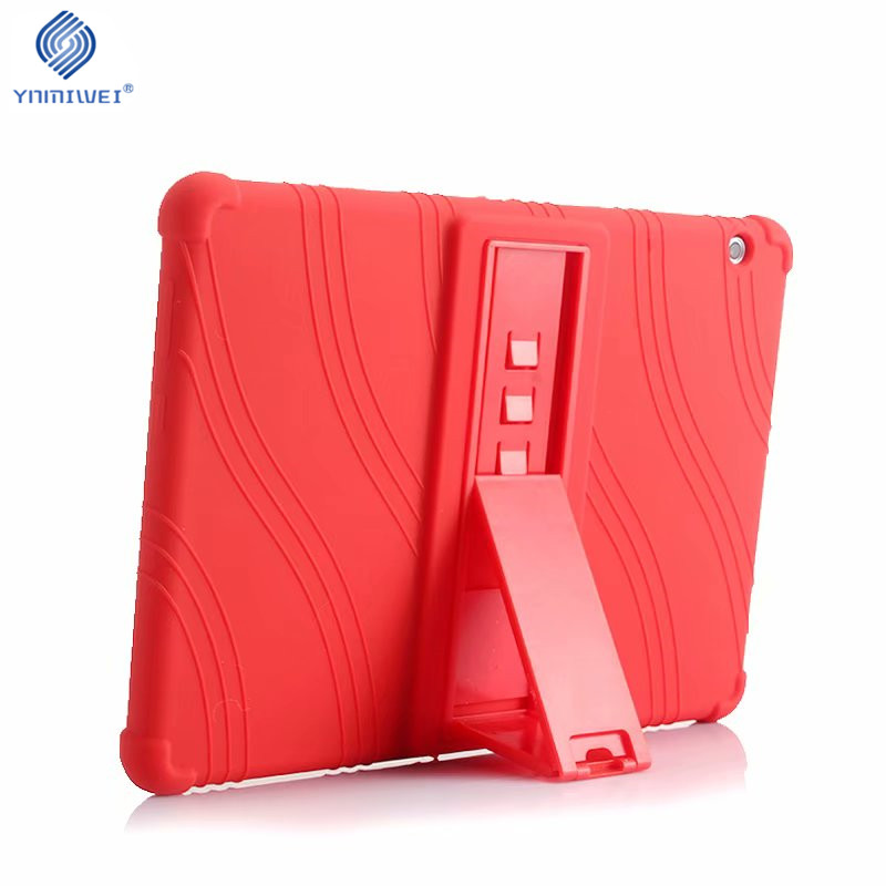 Caso suave para Huawei MediaPad T3 10 Tablet silicona Stand casos para Huawei T3 9,6 pulgadas Honor Play Pad 2 AGS-L09 AGS-L03 AGS-W09
