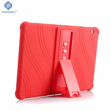 купить Soft Case For Huawei MediaPad T3 10 Tablet Silicone Stand Cases For Huawei T3 9.6 inch Honor Play Pad 2 AGS-L09 AGS-L03 AGS-W09 дешево
