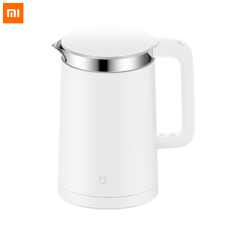 Original Xiaomi Mijia Thermostatic Electric Kettles 1.5L 12 Hours Thermostat kettle Smart Control by Mobile Phone MI home AppOriginal Xiaomi Mijia Thermostatic Electric Kettles 1.5L 12 Hours Thermostat kettle Smart Control by Mobile Phone MI home App