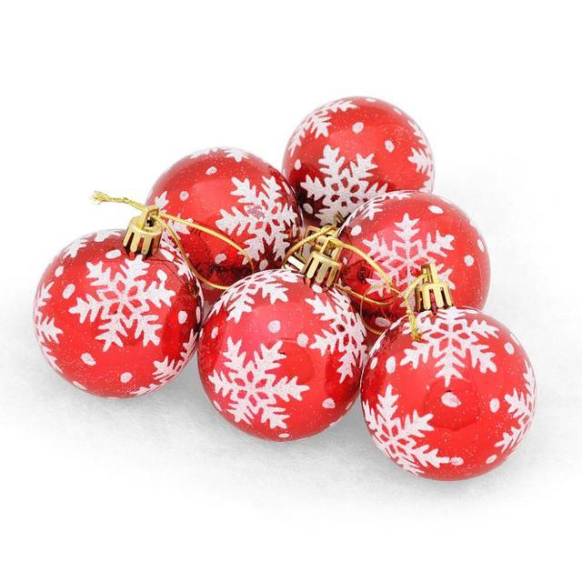 6 Stucke Weihnachtskugeln Kugeln Party Weihnachten Christbaumschmuck