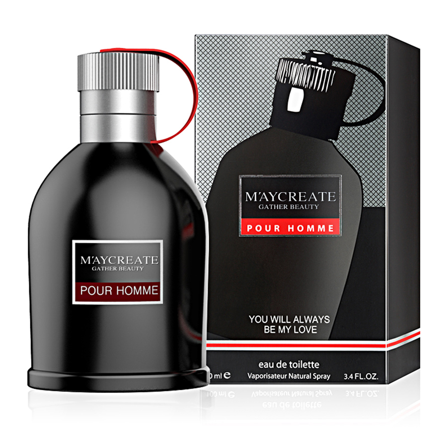 MayCreate 100ml Perfumed Men Portable Parfum For Men Classic Cologne Lasting Fragrance Spray Glass Bottle Male Perfumed 2
