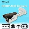 Wan lin 2.0mp 1080 p sony imx323 ahd cctv cámara de vigilancia de vídeo de cámaras de seguridad a prueba de agua 24 unids ir led 20 metro nightvision