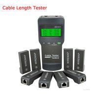 NF_8108M Cable length tester RJ45 RJ11 USB Network Cable Tester Meter NF8108 M