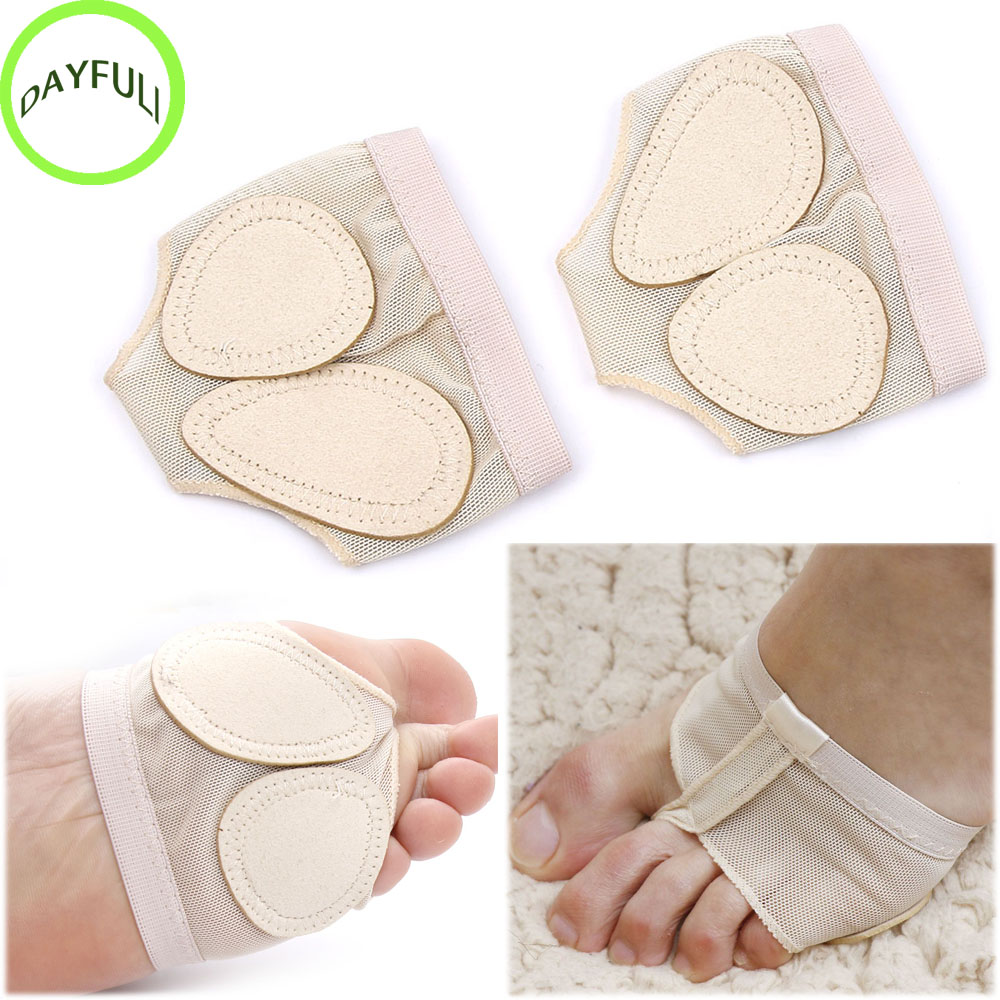 Drilling Thong Toe Undies Half Lyrical Shoe Forefoot Dance Paws Cover Foot