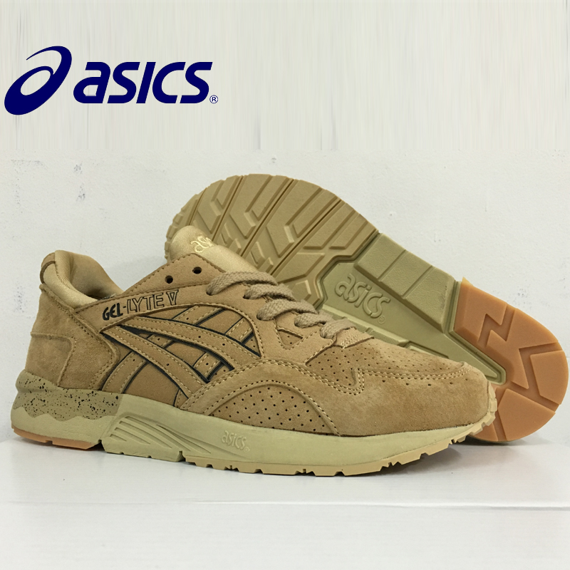 9 colors New Hot Sale ASICS GEL - Lyte V Man's Breathable Cushion Running Shoes Sports Shoes Sneakers outdoor men's tennis shoes asics кроссовки gel lyte 10 4646 ss18