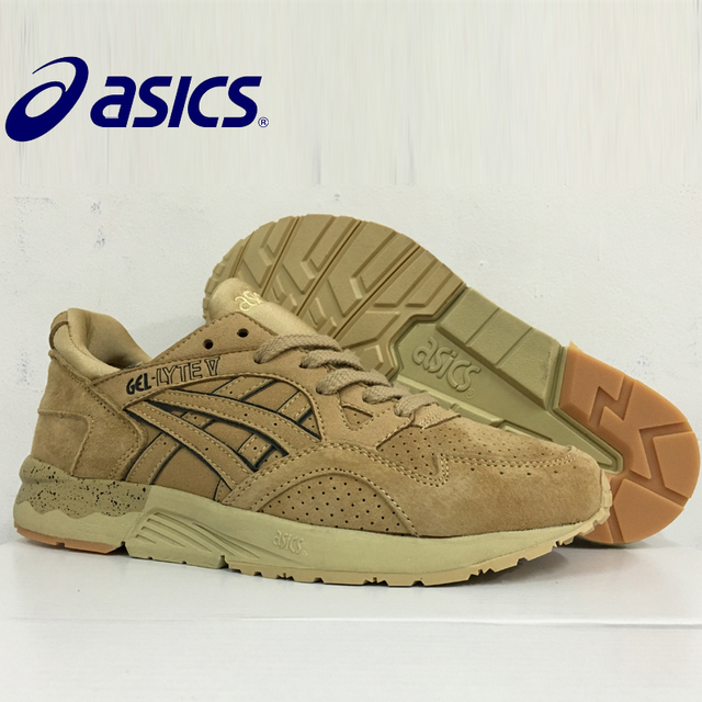 4f123d61 US $55.97 15% OFF|9 colors New Hot Sale ASICS GEL Lyte V Man's Breathable  Cushion Running Shoes Sports Shoes Sneakers outdoor men's tennis shoes-in  ...