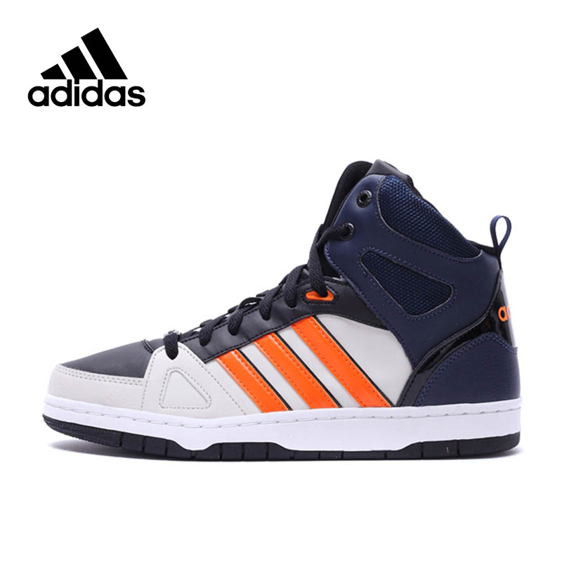 Official New Arrival Adidas NEO Label HOOPS Men's Skateboarding Shoes Sneakers Classique Shoes Platform sneakers original new arrival 2018 adidas neo label hoops 2 0 mid women s skateboarding shoes sneakers