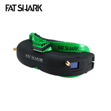 Presale Fatshark Attitude V5 OLED 5.8Ghz True Diversity RF Support DVR AV-IN/OUT FPV Goggles for RC Drone Quadcopter Spare Parts(China)