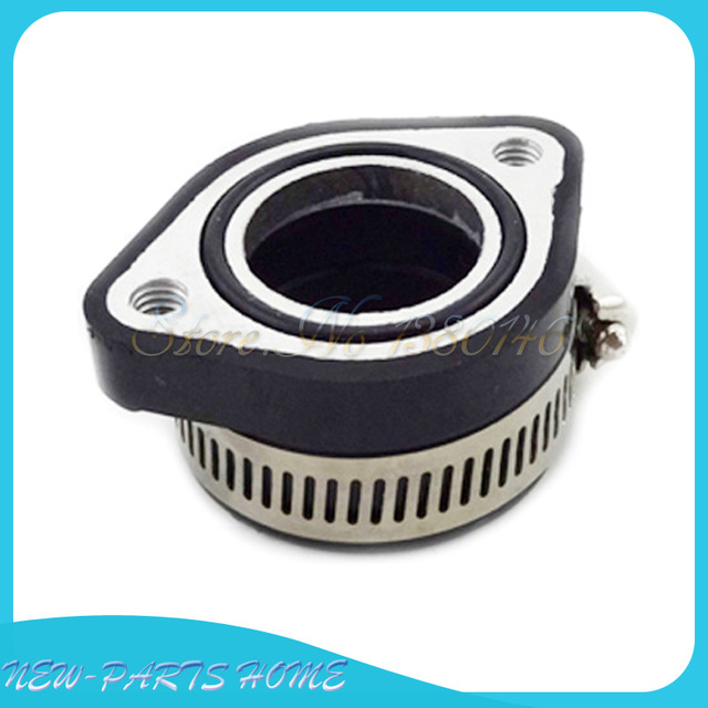 US $7 39 11% OFF|Pit dirt Bike Carb Intake Adapter Boot Rubber Pipe Flange  For Mikuni VM24 Keihin PE24 26 28 OKO ATV Quads motorcycle-in Exhaust &