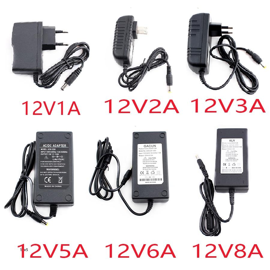 AC 220v to 12V DC Power Adapter 5V 24V 5A 6A 8A 10A For Led Lamp Supply Plug