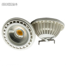 цены COB Lamp LED AR111 15W COB Spot Light G53 GU10 AC85-265V  Dimmable LED Spotlight  Replace 150W  Halogen Bulb Lamp Free Shipping
