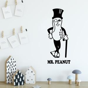 Cartoon Mr.Peanut Wall Sticker