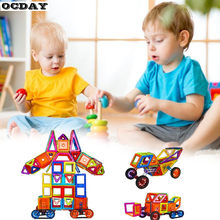 168pcs Mini Magnetic Designer Construction Set Model & Building Toy Plastic Magnetic Blocks Educational Toys For Kids Best Gifts(China)