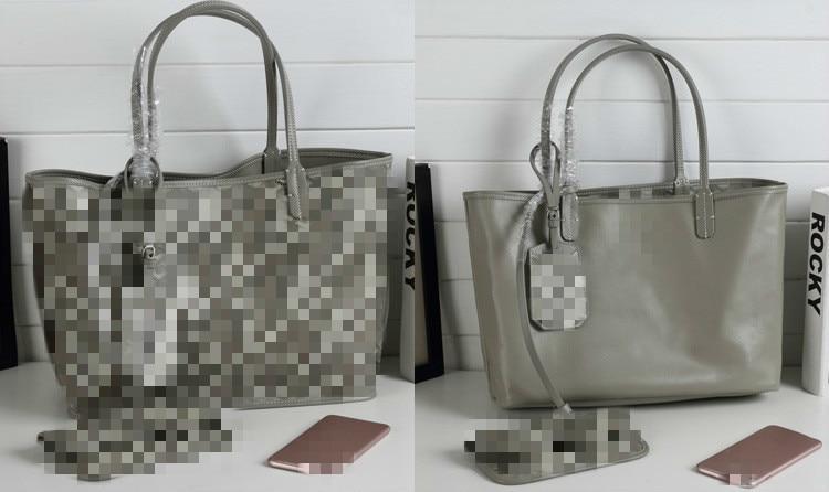 Luxury Brand Handbags Women Bags Designer Tote Genuine Leather Shopping Bag Shoulder Portable Bolsas Double Side