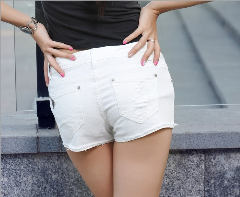White Short Jeans - Legends Jeans