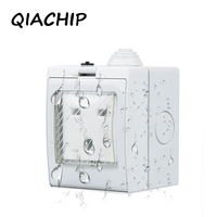 QIACHIP US UK AU Standard Power Control Wireless WiFi Smart Socket Timer Power Plug 16A IOS
