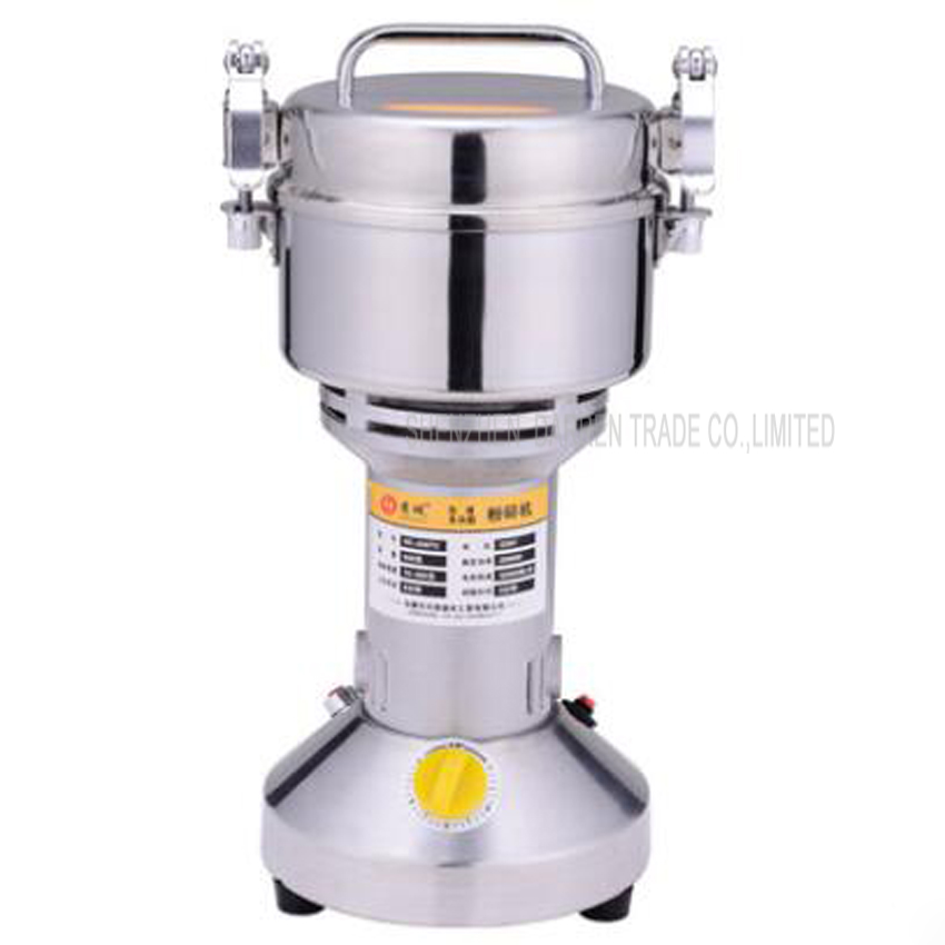 1PC HC-500T2 Swing Portable Grinder 500g Spice Small Food Flour Mill Grain Powder Machine Coffee Soybean Pulverizer 1000g swing food grinder milling machine small superfine powder machine for coffee soybean herb sauce grain crops