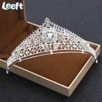 Baroque Rhinestone Crystal Hollow Headband Tiara Bride Crown For Women Wedding Korean Hair Accessories Ornaments Jewelry