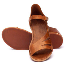 CHAMSGEND; Летняя женская обувь; однотонные туфли на плоской подошве с перфорацией; римская обувь; дышащие повседневные сандалии-светильник; уличные сандалии