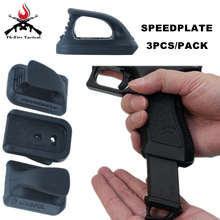 Element Airsoft Speed Plate for TM G17 Hunting Tactical Gun Accessories G18C G19 G26 PA0208 Pistol Magazine Speedplate Marui