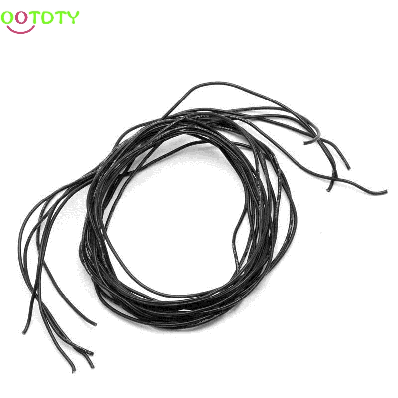 Image 2 - 2M 24 Gauge AWG Silicone Wire Wiring Flexible Stranded Copper Cables For RC-in Parts & Accessories from Toys & Hobbies