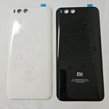 Verre 3D pour mi 6 boîtier de couverture de batterie pièces de rechange pour Xiao mi mi 6 mi 6 batterie couverture arrière boîtier de téléphone de porte livraison gratuite