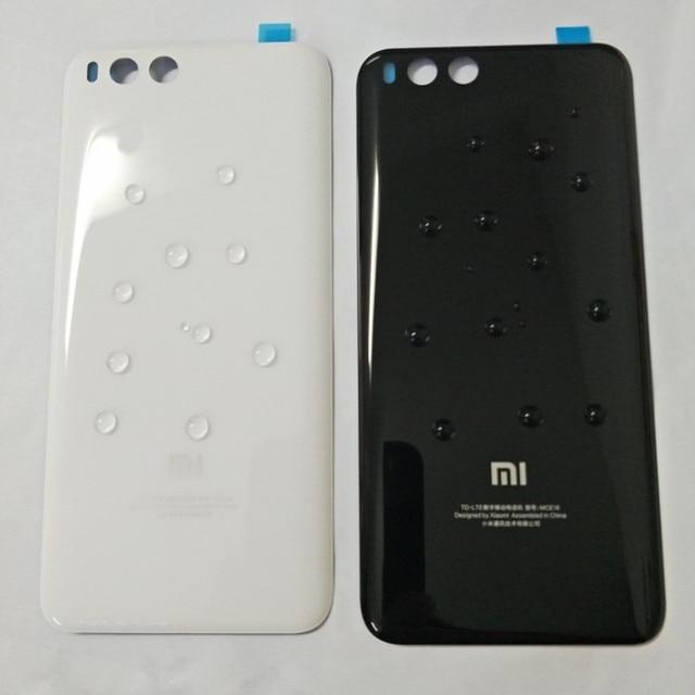 ثلاثية الأبعاد الزجاج ل mi 6 غطاء البطارية قطع الغيار ل Xiao mi mi 6 mi 6 بطارية الغطاء الخلفي الباب هيكل للهاتف حافظة شحن مجاني