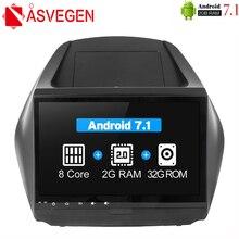 цена на Asvegen Octa 8 Core Car Dvd Radio For Hyundai IX35 2009-2015 Car PC head Unit GPS Navigation 2 din Car Stereo Multimedia Player